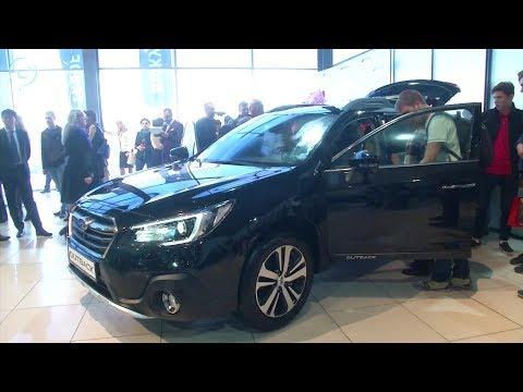 Новые Subaru Outback и Subaru Legacy показали в Новосибирске
