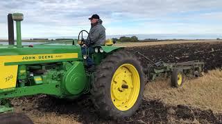 2019 Plowing Hitterdal, MN Day 2 starting John Deere 730 and 720 Diesel plus 630 730 50 70
