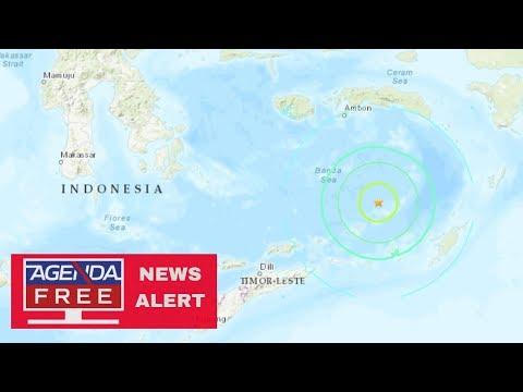 7.3 Earthquake Off Coast of Indonesia - LIVE COVERAGE