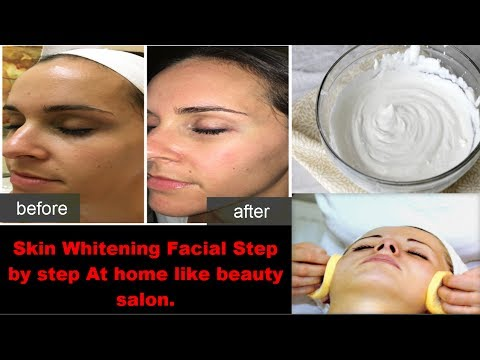 Homemade Herbal Facial | How To Do Facial At Home Like Beauty Salon | Salon Facial At Home