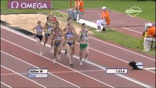2011, Ciara McGeeann, European Junior Athletics Championships, 1500m, Final, Tallinn