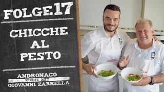Andronaco kocht mit Giovanni Zarrella - Chicche al Pesto Don Vincenzo   Pasta mit Pesto - Folge 17