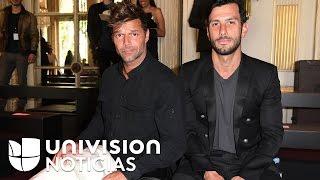 Ricky Martin confirma que se comprometió con su novio Jwan Yosef