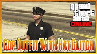Gta 5 Online - NEW How To Get The Police Uniform Cop Outfit Glitch, Easiest Method Patch 1 28
