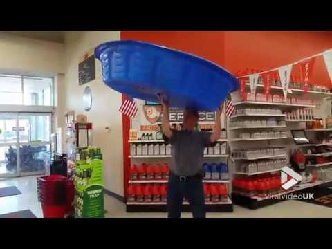 Viral Video UK: Spinning A Swimming Pool On The Finger?