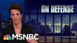 Mueller Report Shows President Donald Trump's Repeated Efforts To Obstruct | Rachel Maddow | MSNBC