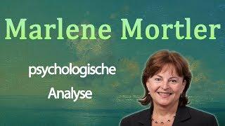 🌱 Marlene Mortler • Psychologische Analyse
