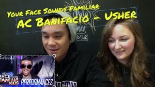 Your Face Sounds Familiar Kids: AC Bonifacio as Usher