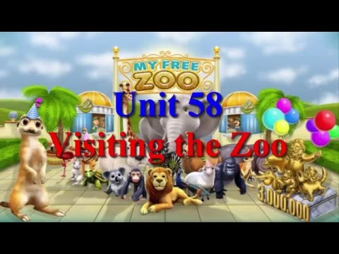 Learn English Via Listening Level 2 Unit 58 Visiting The Zoo