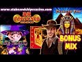SLOTS Compilation MIX Games 🚨 CASINO BONUS ROUND WINS !! PC & Ipad Action
