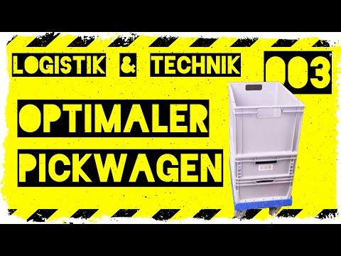 logistik&technik #003: Optimaler Pickwagen für die Lagerlogistik - Optimale Lagerprozesse