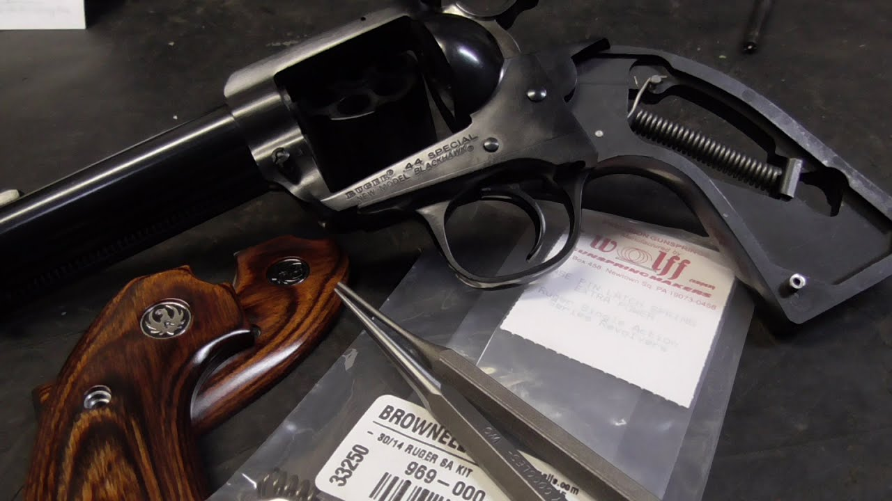 Slicking Up Your Single-Action Revolver - Springs