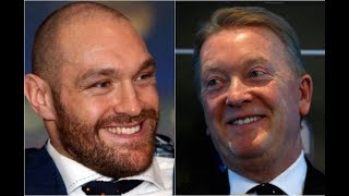 FRANK WARREN TO ANNOUNCE THE SIGNING OF TYSON FURY TOMORROW
