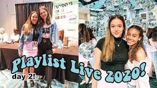 PLAYLIST LIVE 2020 DAY 2 VLOG (Ellie Thumann, Marla Catherine, Avrey Ovard, James Charles + more!)