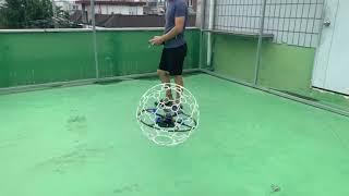 드론축구 스트라이커 드론볼 시동 및 비행