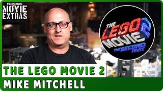 """THE LEGO MOVIE 2   On-studio Interview with Mike Mitchell """"Director"""""""