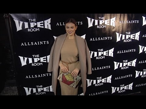 Serinda Swan comes out to party at the Viper Room ReLaunch in Los Angeles
