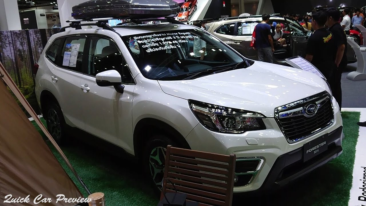 2020 Subaru Forester 2 0 I L Quick Preview Youtube