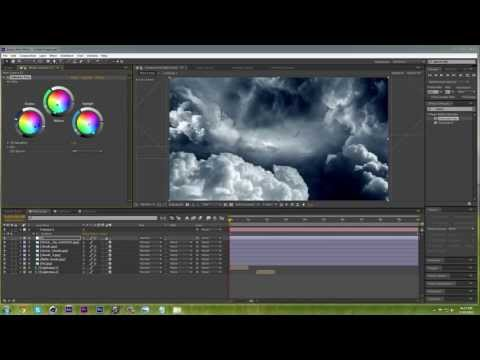 How to create 3D clouds | After Effects CC Tutorial