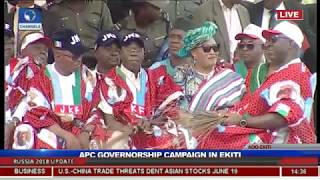 APC Holds Mega Rally To Campaign For Fayemi In Ekiti Pt.5