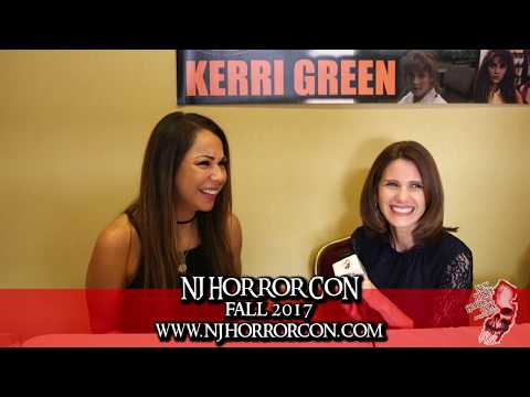 Kerri Green  at New Jersey Horror Con and Film Festival Fall 2017