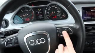 Ауди А6 C6  2010 года  Двигатель  Интерьер  ОБЗОР  Audi A6 C6