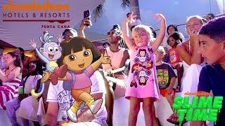 Оливия приехала на отдых в детский отель Nickelodeon Punta Cana