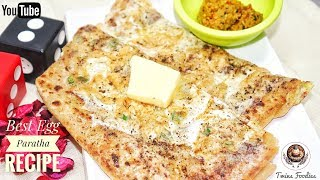 Egg Paratha Recipe अंडा पराठा आसान रेसिपी //Stuffed Crispy Paratha // Easy Breakfast-- PREETI SEHDEV