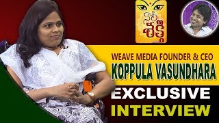 Weave Media Founder & CEO Koppula Vasundhara Exclusive Interview || Naari Shakti || Bharat Today