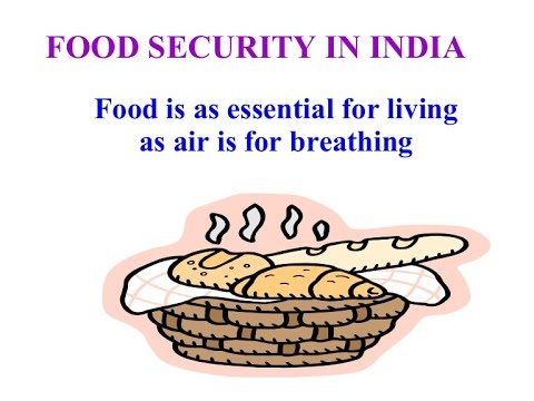 keywords food security