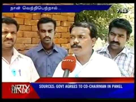 Tn Elections - Ambattur Candidate-Tamil Interview.mp4