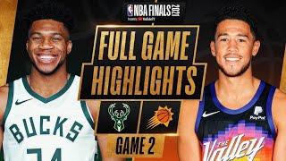 BUCKS at SUNS | FULL GAME 2 NBA FINALS HIGHLIGHTS
