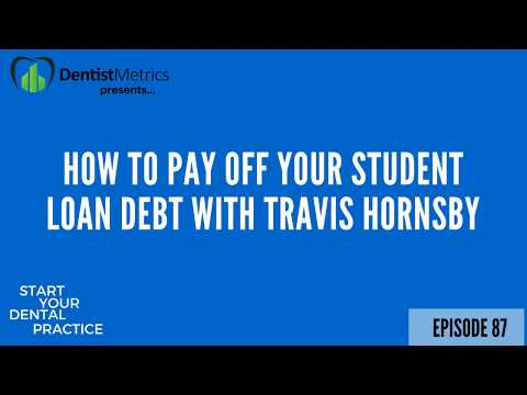 How To Pay Off Your Student Loan Debt With Travis Hornsby