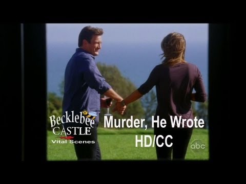 "Castle 5x04 ""Murder, He Wrote""  Beckett Gets Insecure  ""None of them were you""(HD/CC/L↔L)"