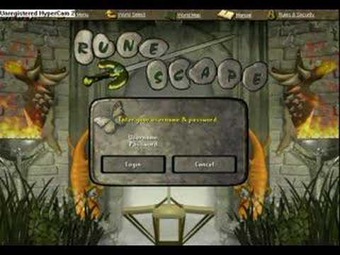Rs Hunter Login Screen Youtube