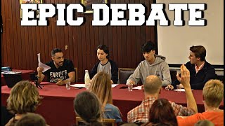 MEAT IS MURDER | CAMBRIDGE UNIVERSITY DEBATE