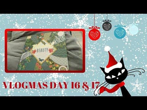 Vlogmas 2018 :: Days 16 & 17 :: Admin, Aquaman & Alliteration