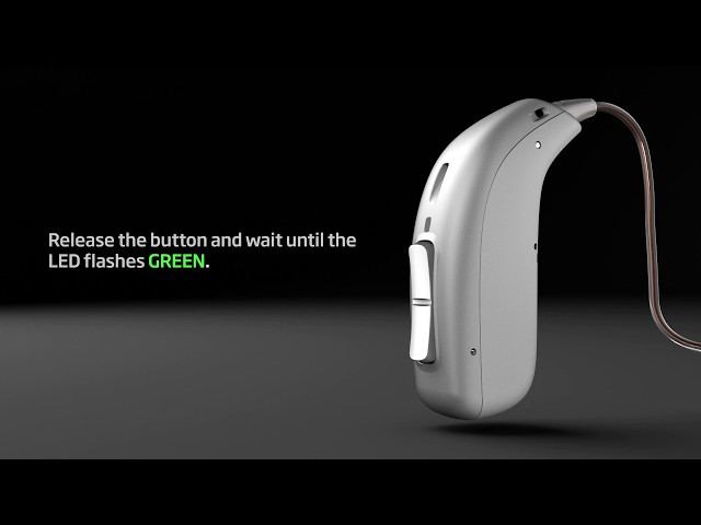 How to turn Oticon Opn S™ and Oticon Opn Play™ rechargeable hearing aids ON or OFF