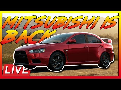 🔴[LIVE]Forza Horizon 4:Mitsubishi Is BACK! (Update 5 Reaction) thumbnail