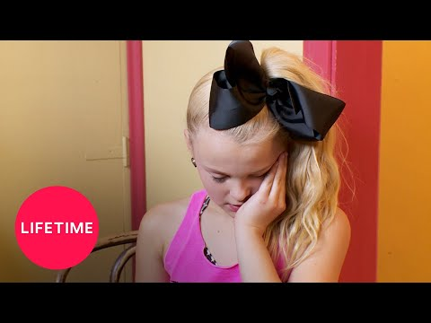 Dance Moms: JoJo Gets a Pep Talk Season 5 Flashback  Lifetime