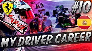 MONSOON RAIN, MIXED UP GRID, INCREDIBLE RACE! - F1 MyDriver CAREER S8 PART 10: SPAIN