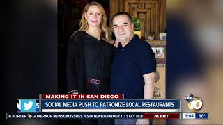 We're Open San Diego: Social media push to patronize local restaurants