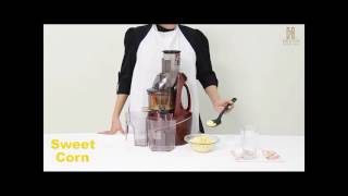 HESTIA APPLIANCES NUTRI-MAX COLD PRESS JUICER USER VIDEO
