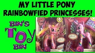My Little Pony Fantastic Flutters TWILIGHT SPARKLE & PRINCESS CADANCE Review! by Bin