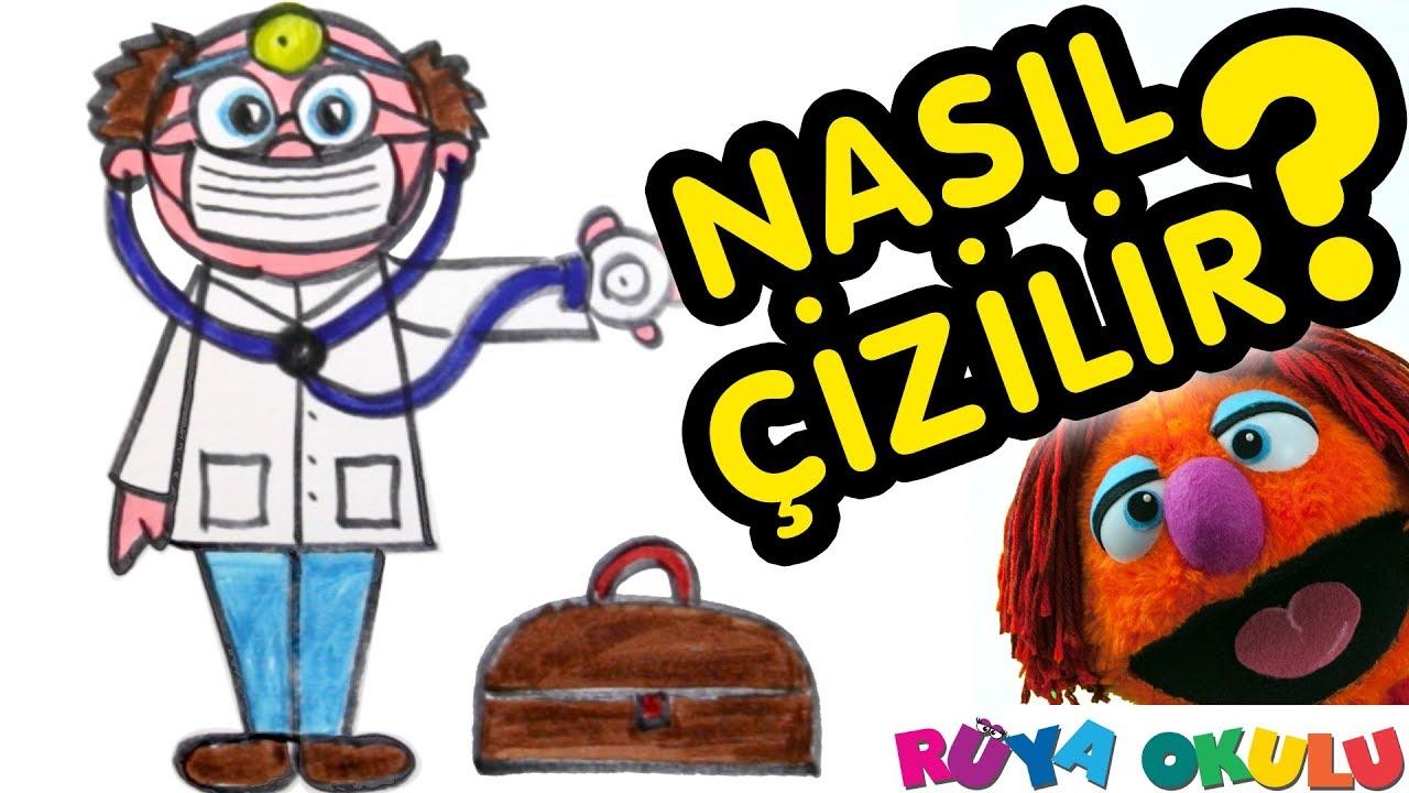 Doktor Nasil Cizilir Dr Cocuklar Icin Resim Cizme