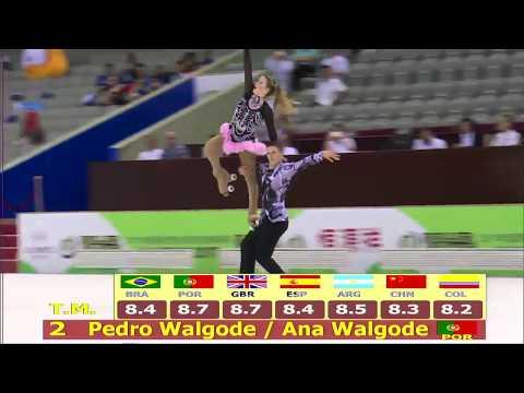 Ana Walgode & Pedro Walgode - Free dance, World Roller Games Nanjing, China 2017