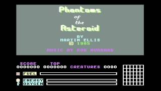PHANTOMS OF THE ASTEROID MASTERTRONIC COMMODORE 64 C64 GAME TAPE LOADING
