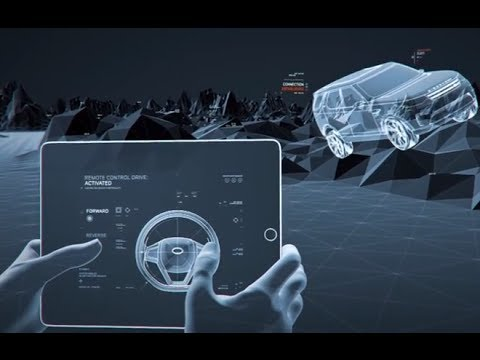 Land Rover Discovery Vision Driverless SUV Remote Control 2015 Video CARJAM TV HD 2014