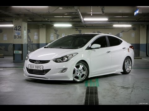 Hyundai Elantra Sports Full Bodykit Modified 현대 엘란트라 Hd Youtube