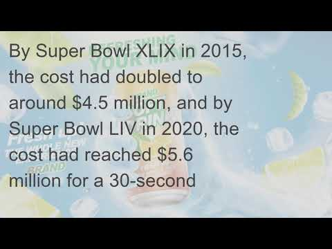 What Is Average Cost To Advertise In Super Bowl Commercials